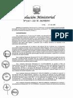 Resolucion Ministerial n 387-2016-Minedu.