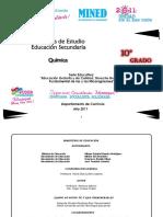 Programa Quimica10mo