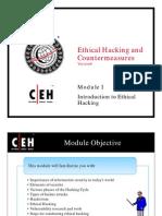 CEH Module 01
