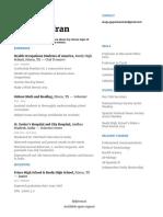resume w o references - portfolio