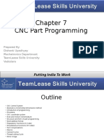 Chapter - 7, CNC Programming