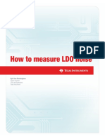 How to Measure LDO Noise