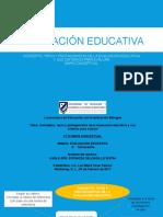 P1T2 Conceptos, Tipos y Protagonistas de La Evaluación Educativa