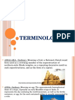 history of architecture terminologies