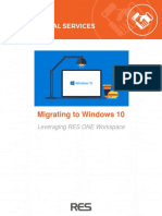 A Guide to Migrating to Windows 10 With RES