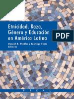 Etnicidad, raza, género y educación en AL.pdf