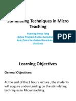 Micro Teaching Nst