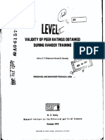Ranger Training Evaluation