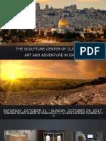Sculpture Center Israel Trip October 2017