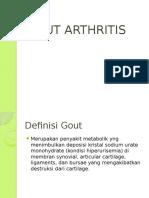Gout Arthritits