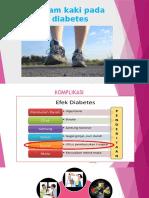 Senam Kaki Pada Diabetes