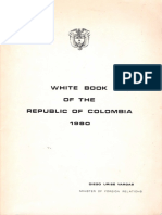 White Book of the Republic of Colombia 1980