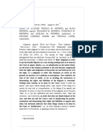 Heirs of Spouses Teofilo M. Reterta and Elisa Reterta vs. Spouses Lorenzo Mores and Virginia Lopez, 655 SCRA 580 , August 17, 2011