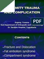 Extrimity Trauma and Complication-Sugeng Yuwana-Orthopaedic and Traumatology (2015)
