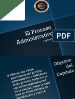 Capitulo 1 Proceso Administrativo