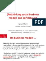 Social Business Models Brussels 05122016