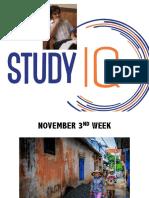 November 3rd Week PDF