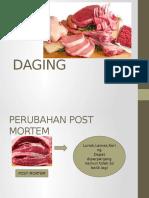perubahan post mortem pada daging
