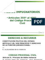 medios de impugnacion en civil