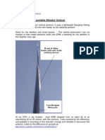 40 Mtr vertical HF radio antenna aerial  - ultra easy system