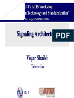 Signaling Architecture NGN