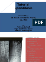 Spondilosis