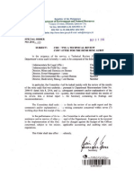 DENR technical review committee findings