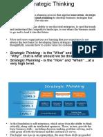 strategic thinking.ppt