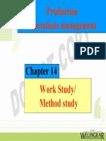 Unit II Work Method Study