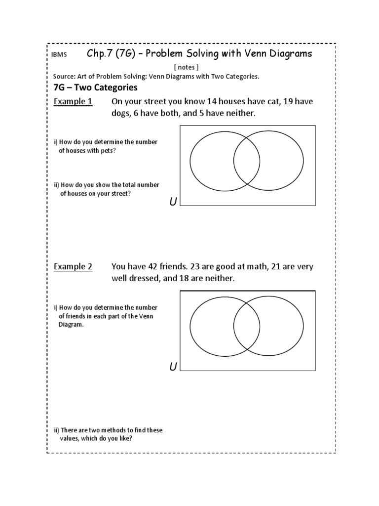 7g problem solving with venn diagrams notes pooptronica