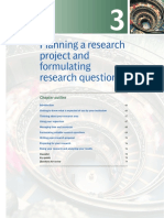 Planning a Research Project