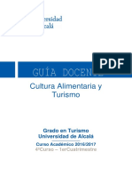 Alimentary Culture and Tourism