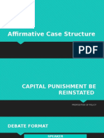 Affirmative Case Structure.pptx