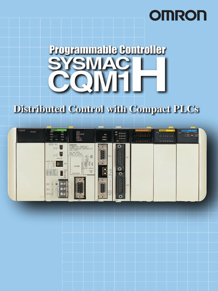 CQM1H Programmable Controller Cataloge | Input/Output | Programmable ...