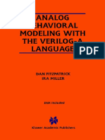 Analog Behavioral Modeling with the Verilog-A Language.pdf