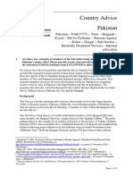 Australian Govt Refugee Review Tribunal Report on Turi and Bangash Shiit Tribe in Pakistan.