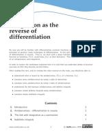 MathCentre(Integration)