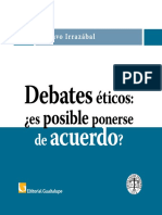 Gustavo Irrazabal Debates Eticos