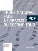 Le Front national face à l'obstacle du second tour