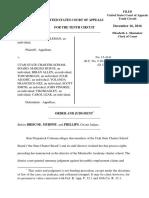 Coleman v. Utah State Charter School Bd., 10th Cir. (2016)