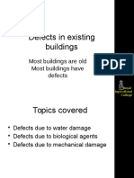 Water Caused Defects Buildings