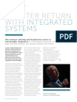 A Better Return With Integrated Systems