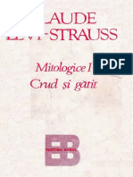 Levi Strauss Claude - Mitologice - Crud si Gatit.pdf