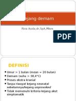 11. Kejang Demam (Dr. Riva Sp.a)