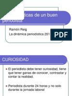 Características de Un Buen Periodista