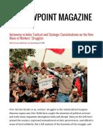 Autonomy in India