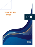 Advanced VHDL 11.1 v1