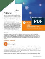 Dynamics AX Localization - Pakistan