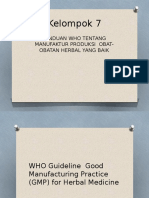 GMP for Herbal Medicine