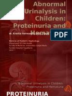abnormal urinalysis children-tadulako2015.pptx